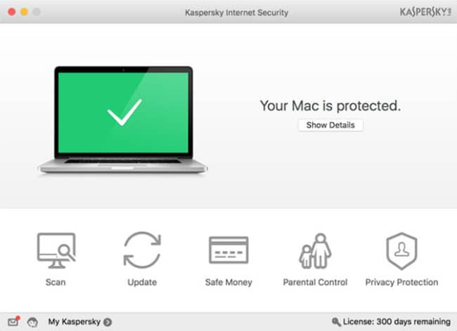 Kasperspky mac antivirus