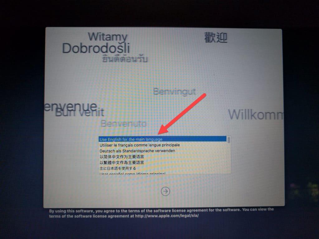 secure erase osx prompt