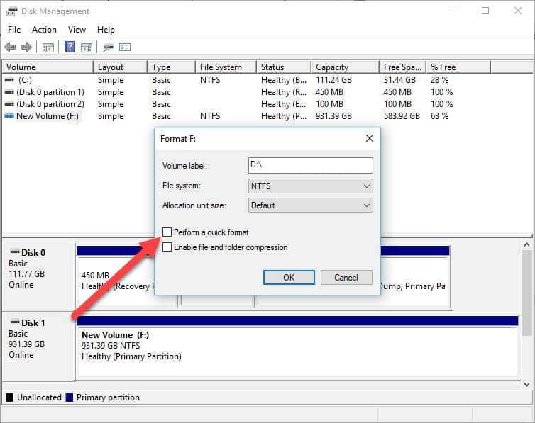secure erase windows disk