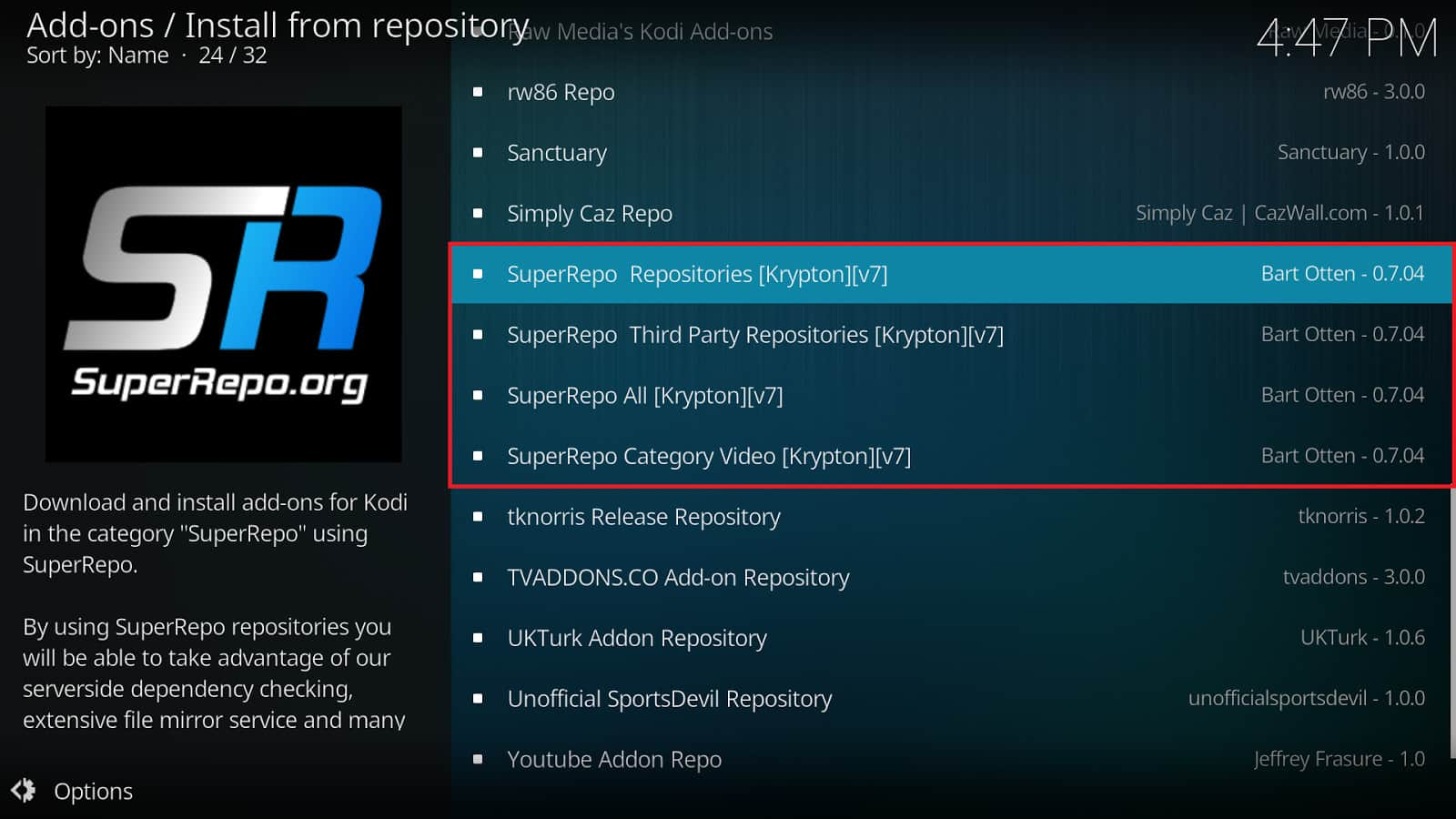 SuperRepo Kodi Repository: How to Install SuperRepo on Kodi