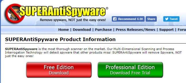 spyware entfernungstool kostenlos