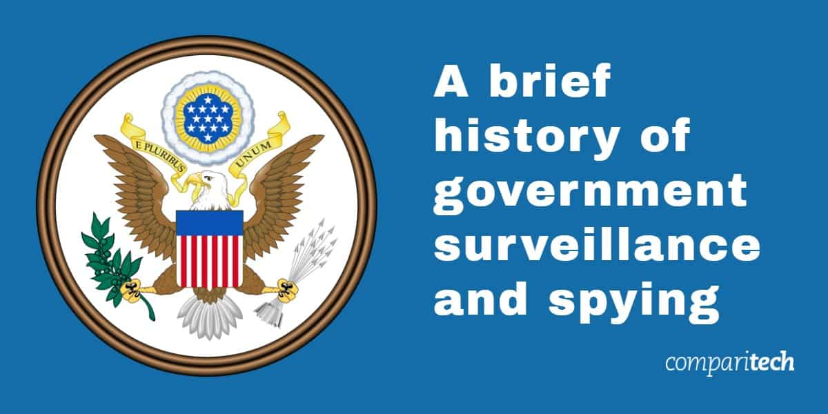 A brief history of government surveillance and spying