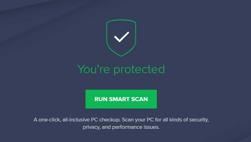 Avast anti-spyware