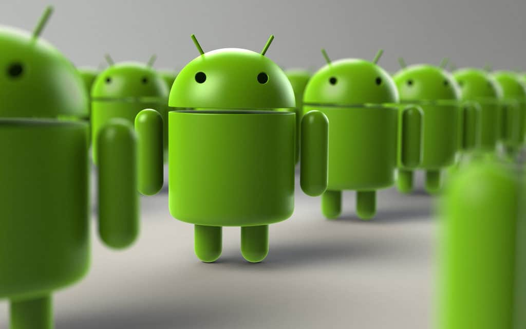 Android Lineup by Rob Bulmahn, CC BY 2.0