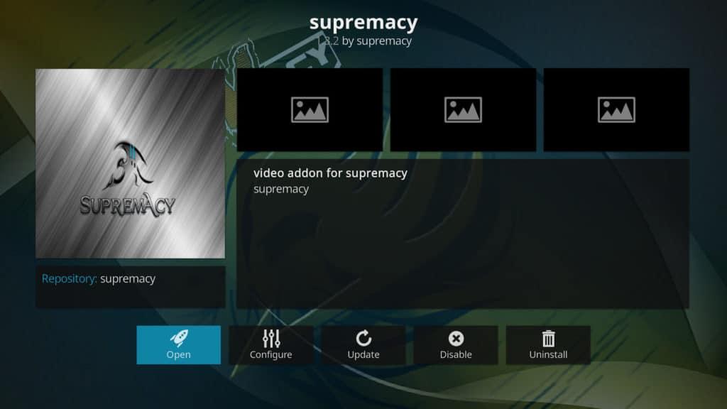 Kodi Supremacy Addon