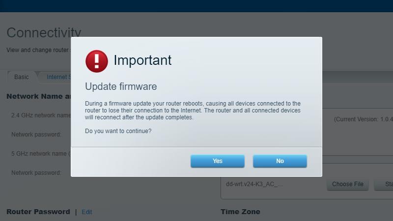 update firmware chromecast vpn
