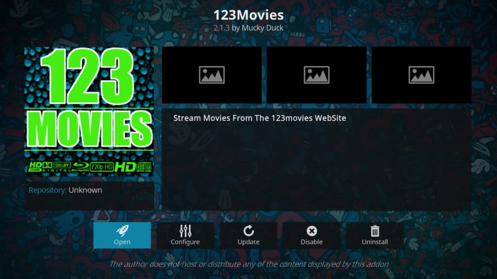 123Movies Kodi addon