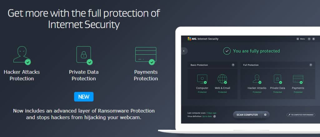 avg protection free download 2017