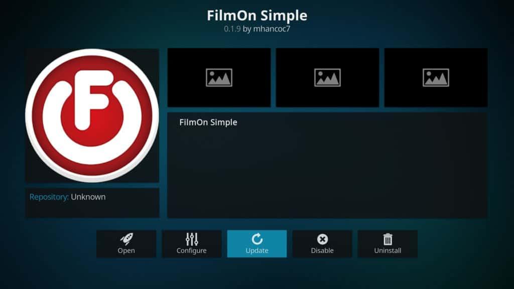 Filmon simple