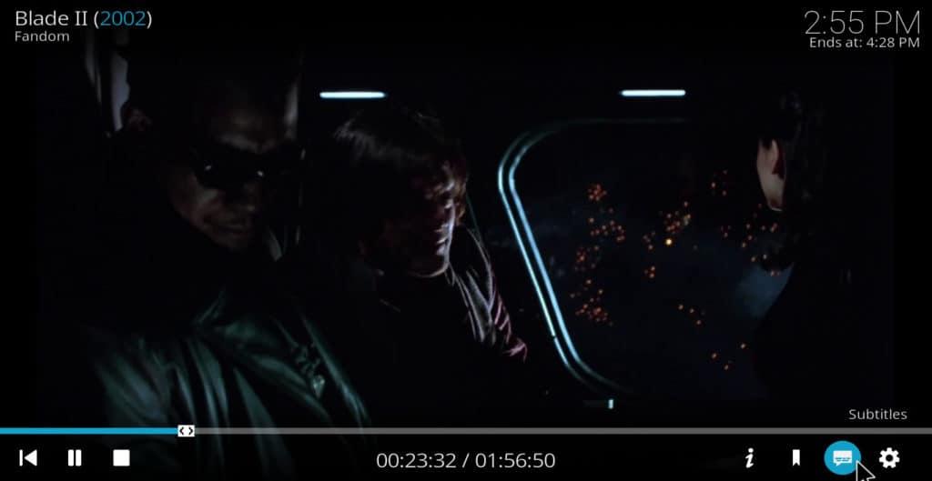 Click subtitles blade II
