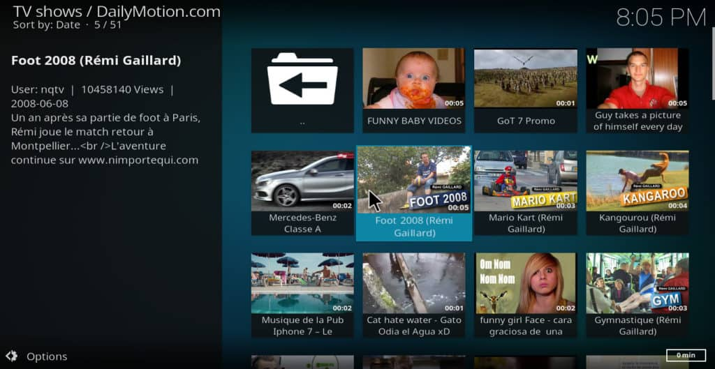 How to install Dailymotion addon on Kodi