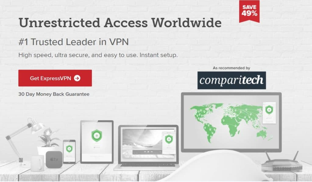 ExpressVPN works with Netflix