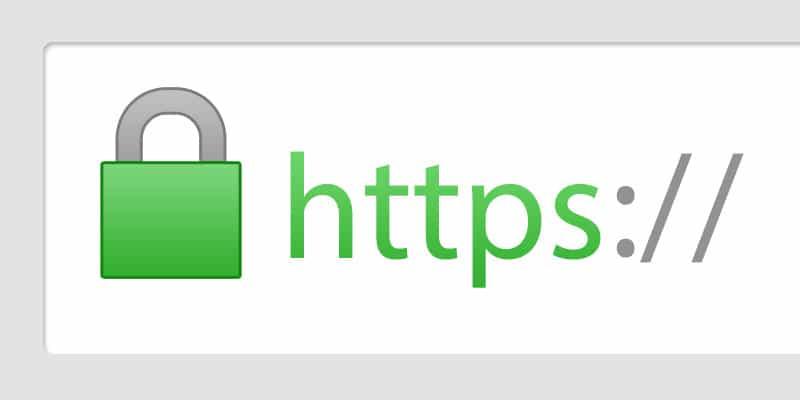 HTTPS banner