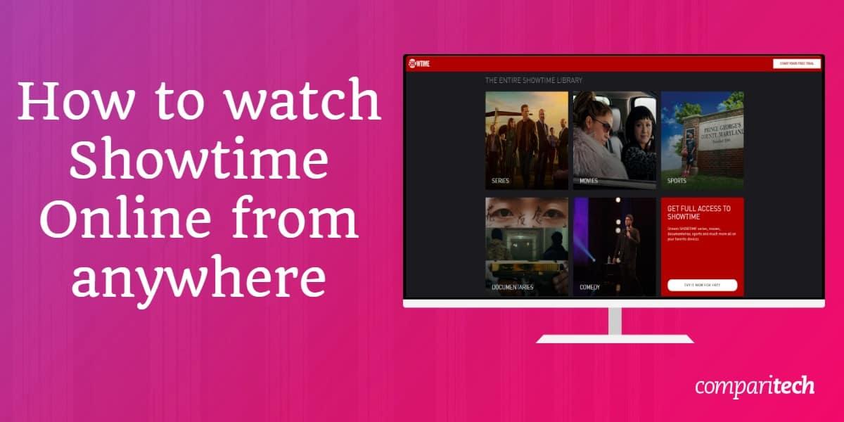 watch Showtime Online