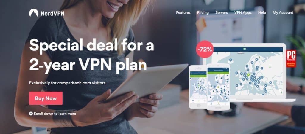 NordVPN 2 year plan