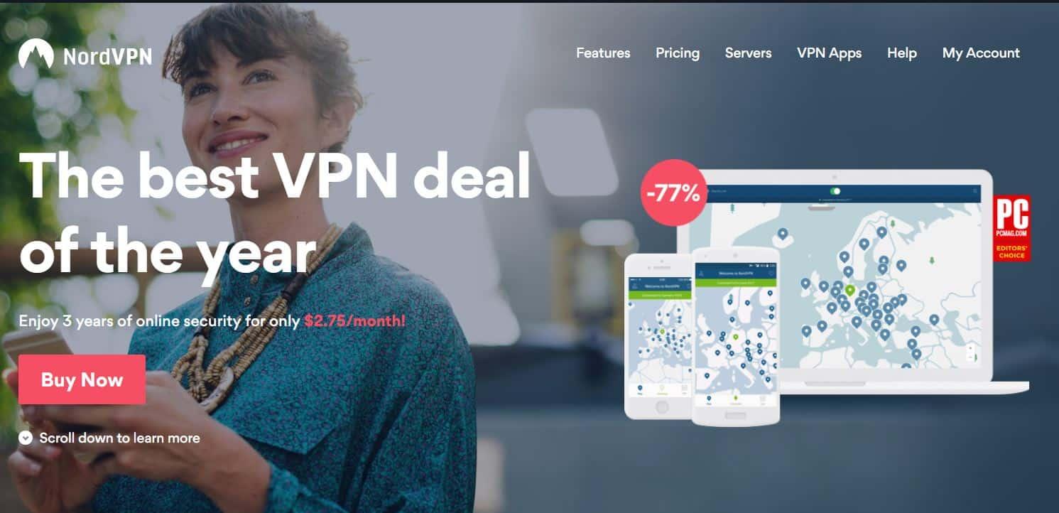 NordVPN 3 year plan