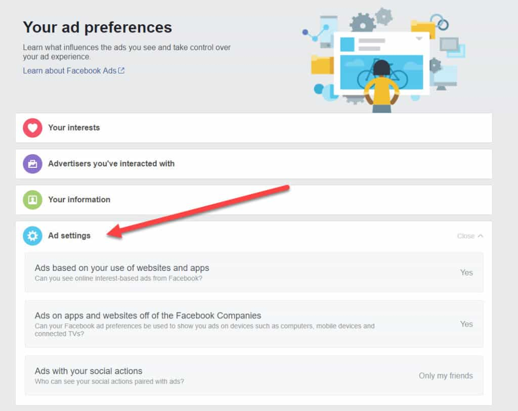 facebook ad opt out