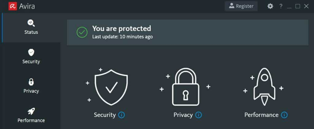 avira free antivirus for malware removal