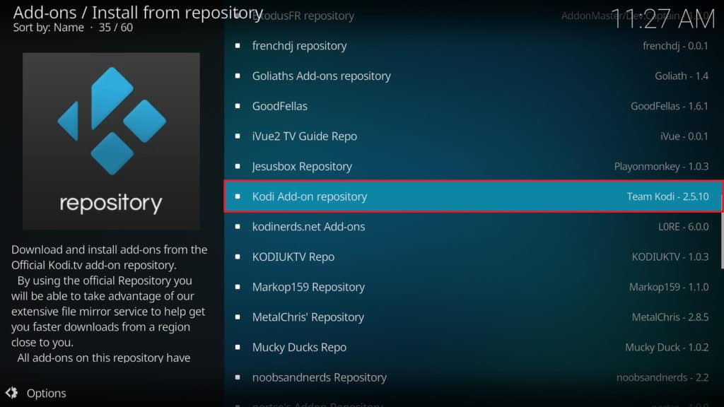 Official Viewster addon for Kodi