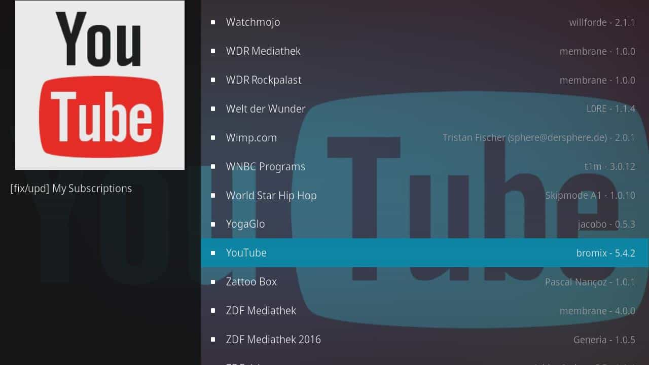 How to install Kodi YouTube Addon and use Safely and Privately