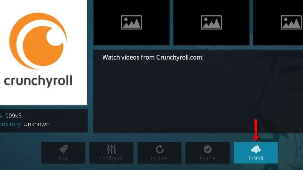 Crunchyroll Kodi Addon - Install 5