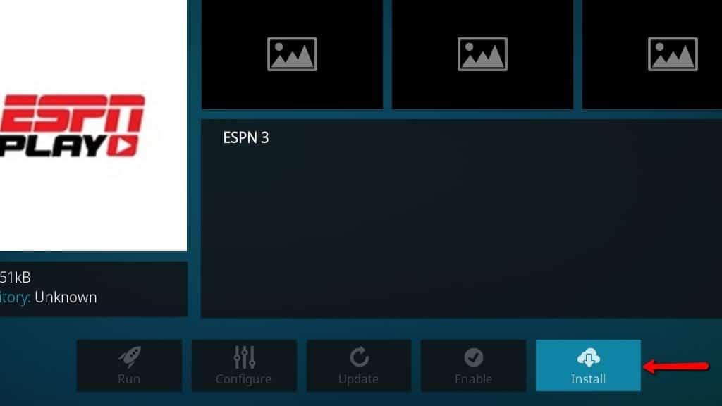 ESPN 3 Kodi Addon - Install 5