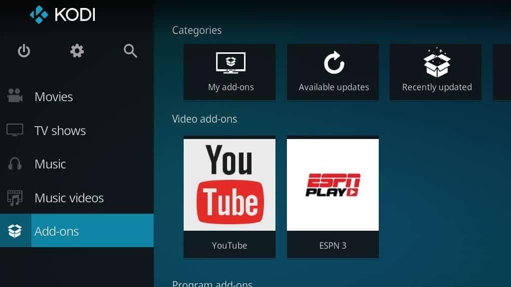 ESPN 3 Kodi Addon - Install 8