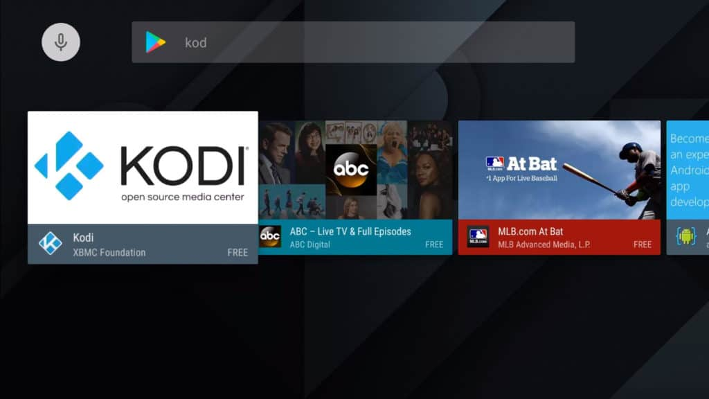 nvidia shield kodi setup