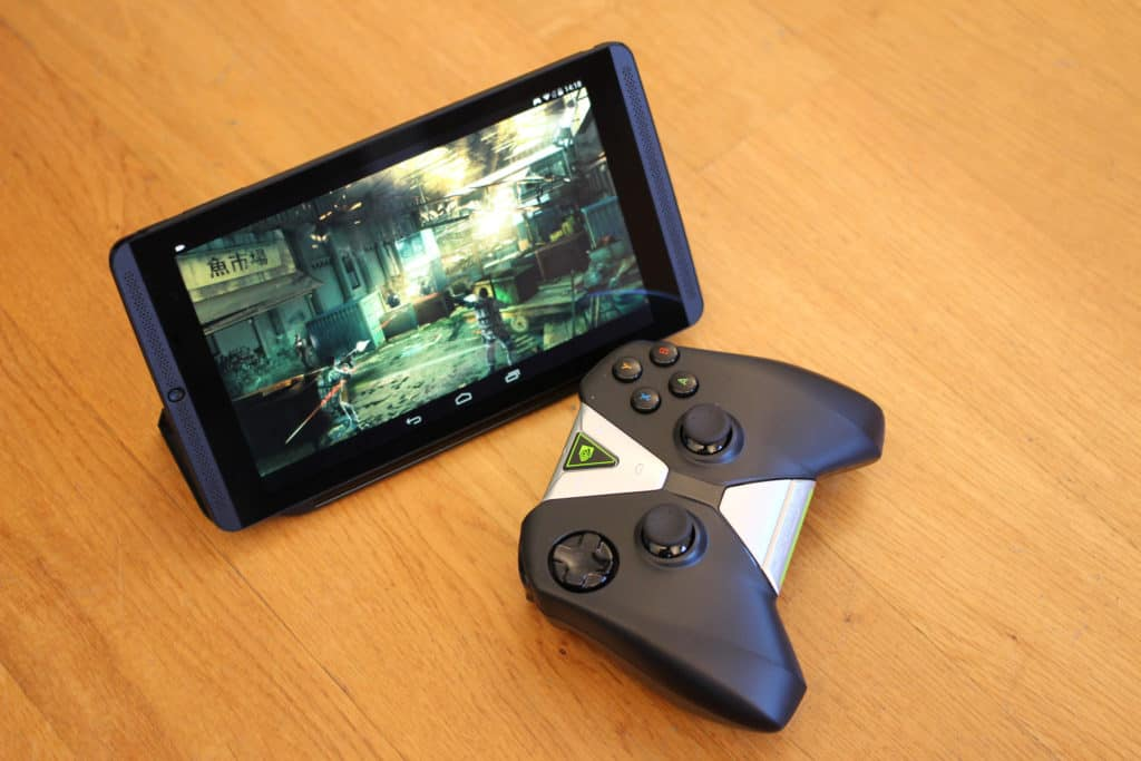 nvidia shield w remote