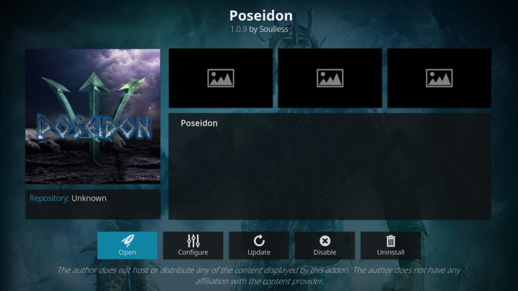 Poseidon Kodi addon Best Kodi addons