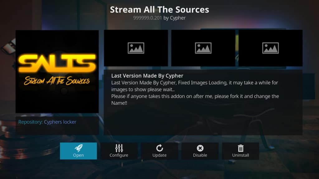 SALTS Kodi addon September 2018 best kodi addons