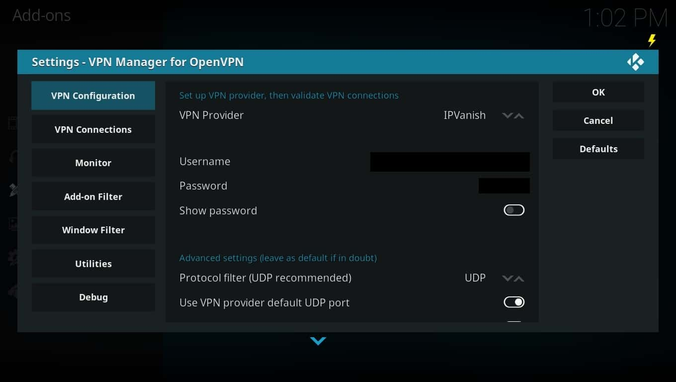 How to install a VPN on OpenELEC: Step by step guide with images