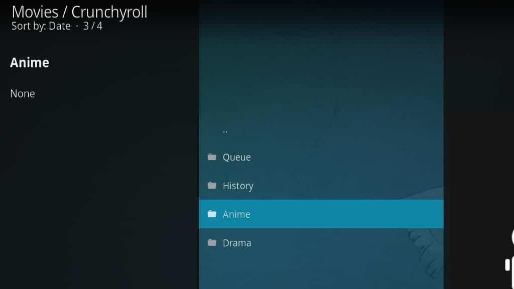 Crunchyroll Kodi Addon - Configure 6