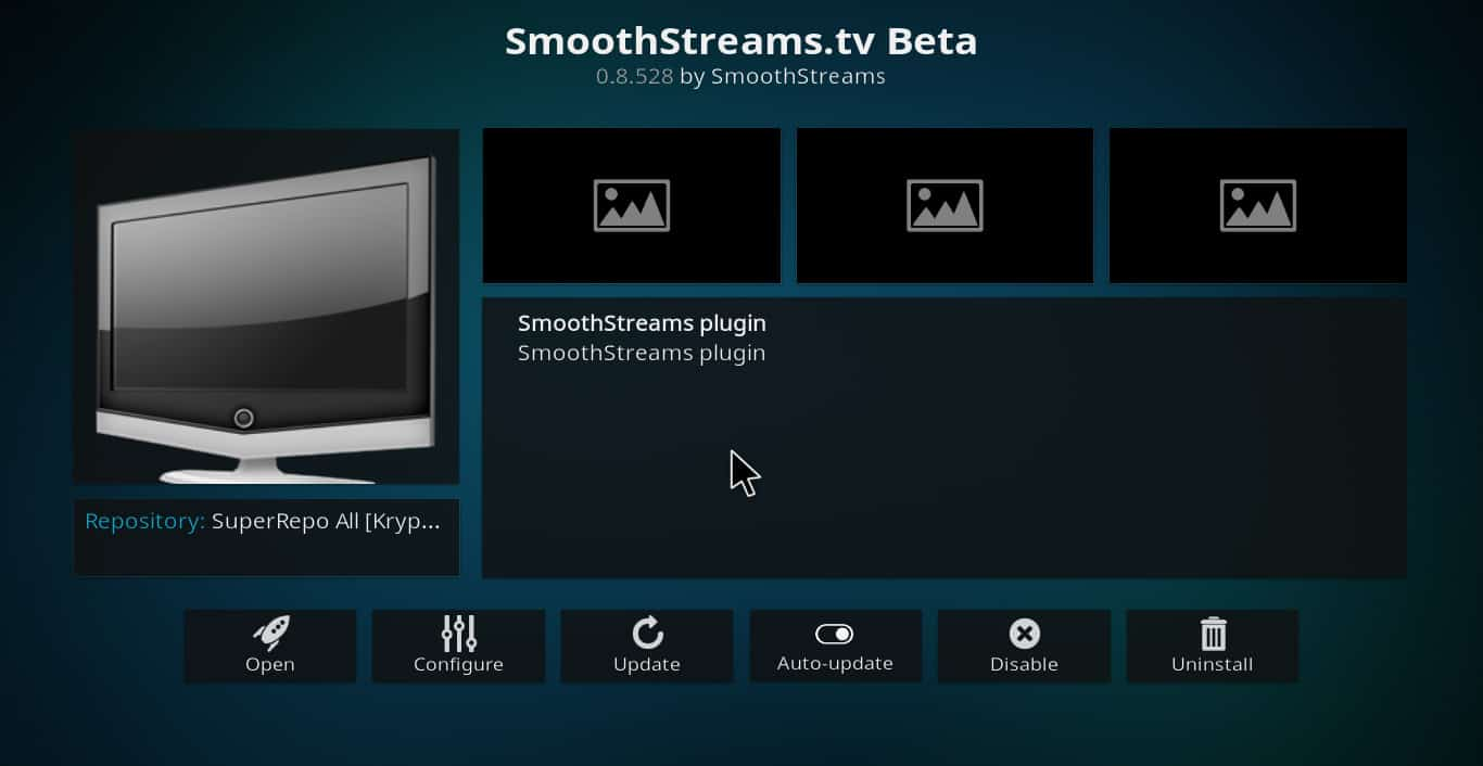 Kodi Smoothstreams