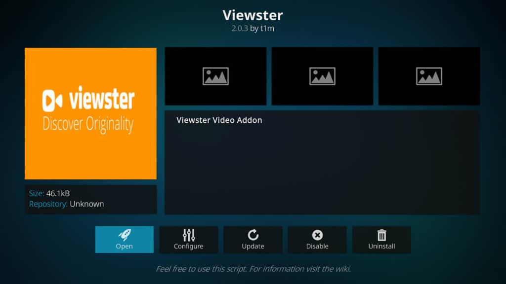 best kodi addons viewster