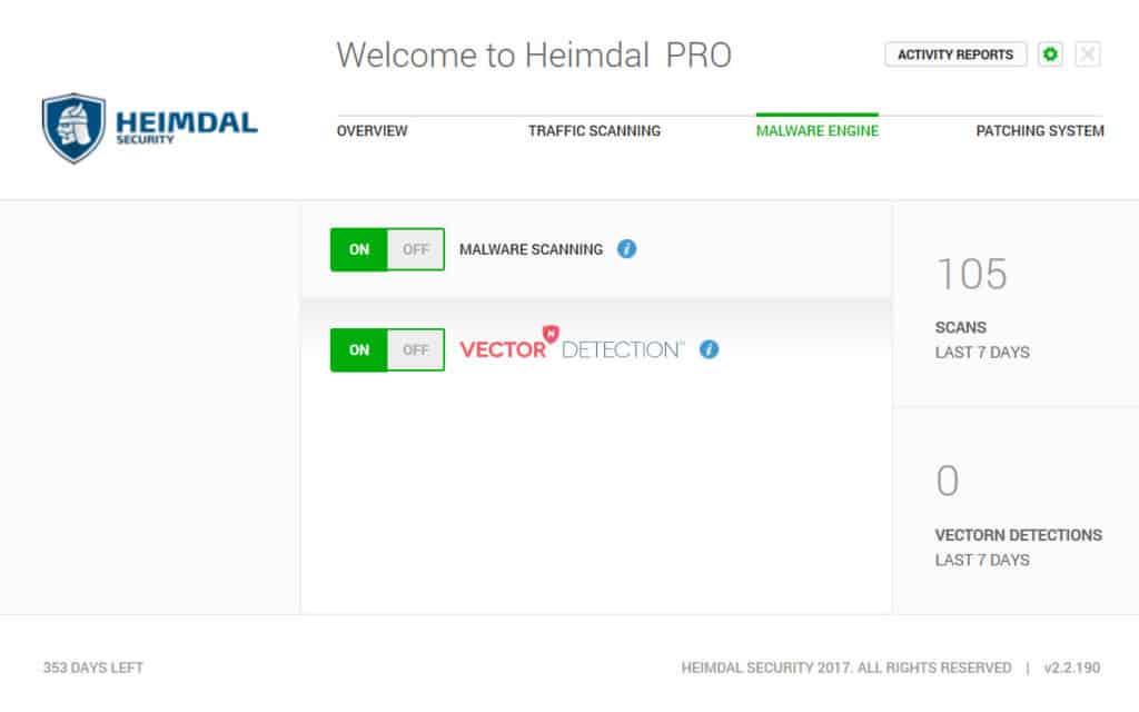 Heimdal Malware Scanner