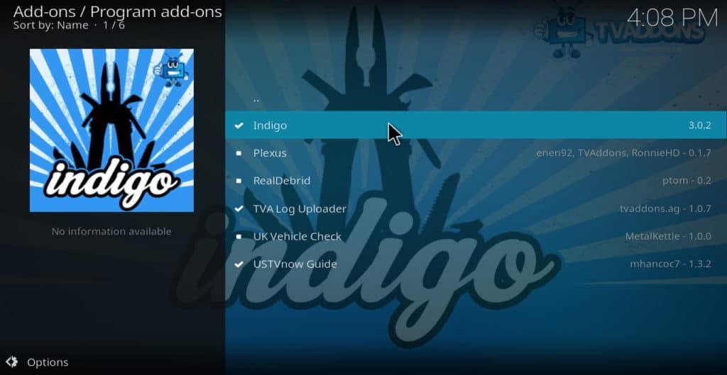 Click Indigo