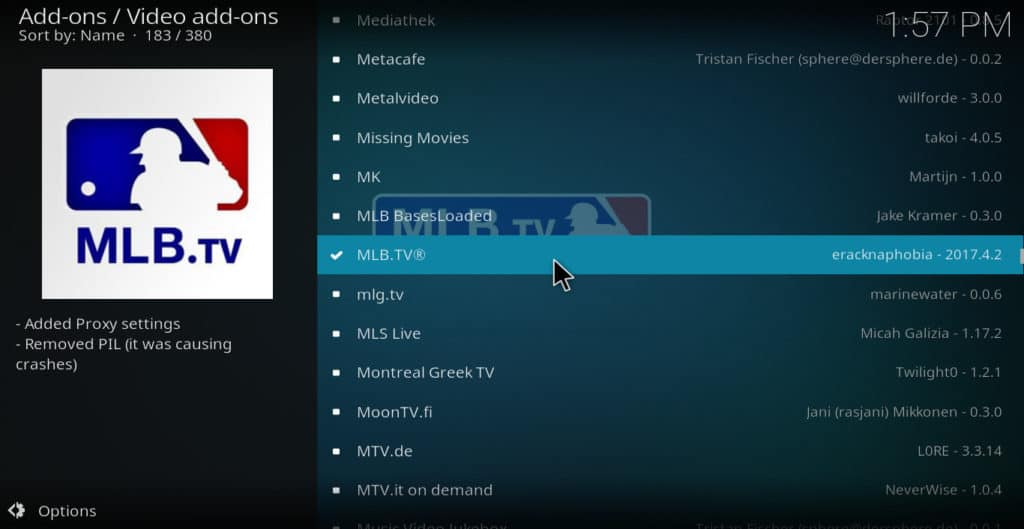 Choose MLB.tv