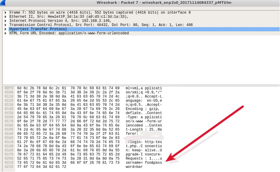 Wireshark-NoVPN-HTTP