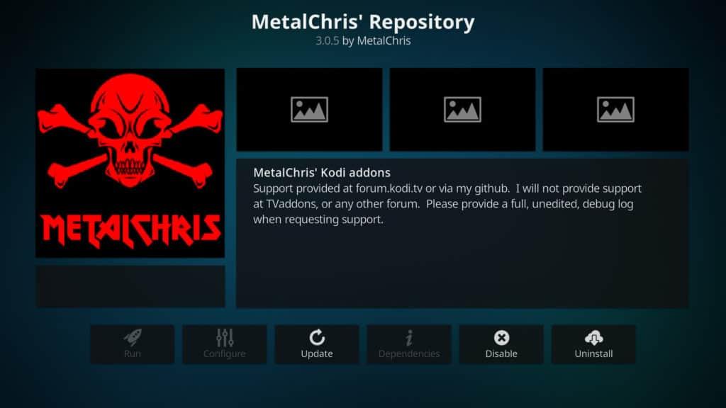 metalchris repo