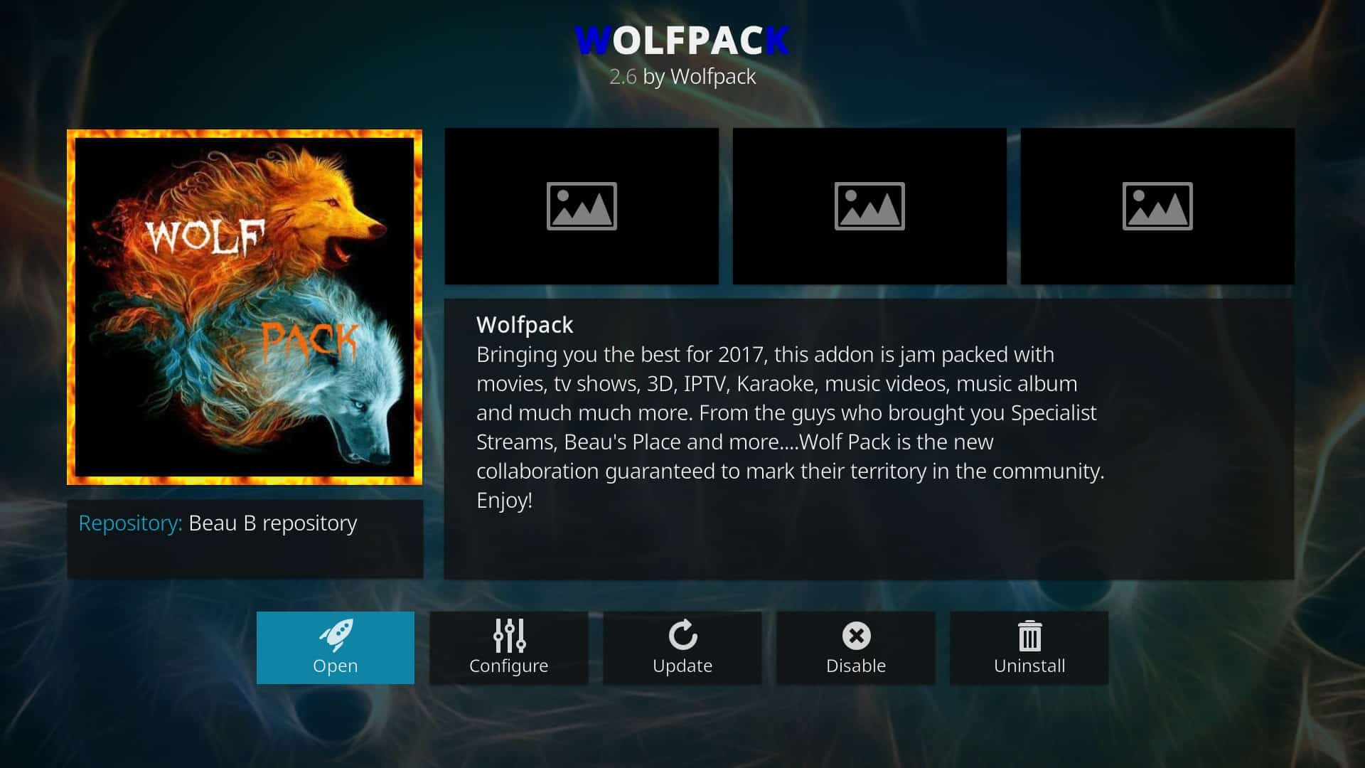 Wolfpack Kodi Addon, here's what it is and why you should use these alternatives