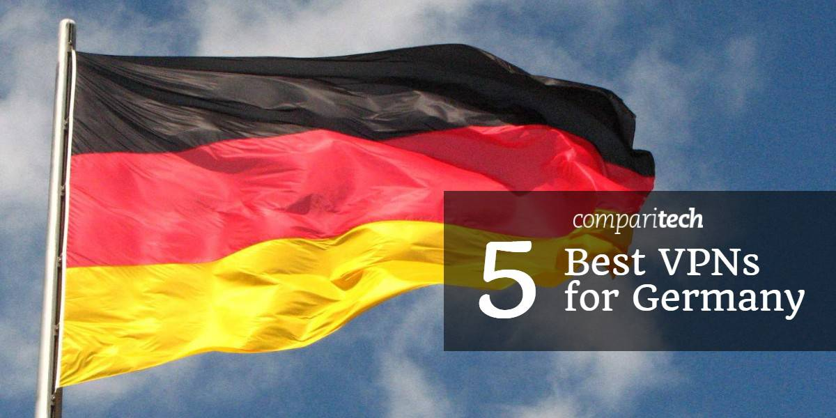 Best VPNs for Germany - German flag