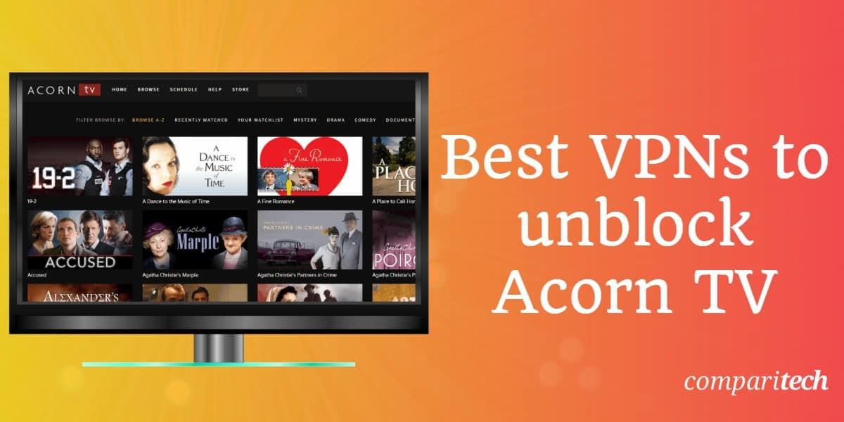 Best VPNs Acorn TV