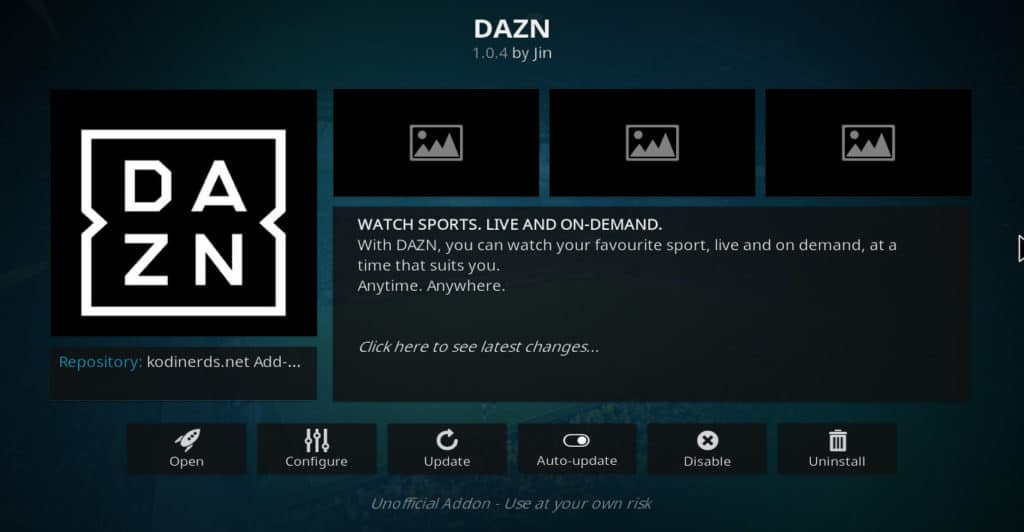 dazn kodi addon super bowl 53 without cable