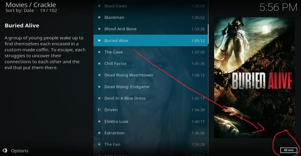 Kodi HD movies 2