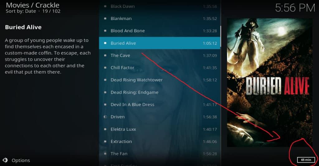 Kodi HD movies 2