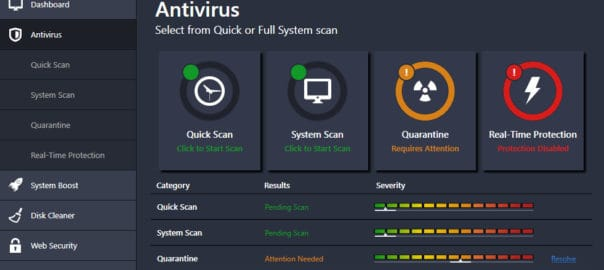 avg virus system requirements