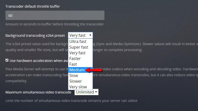 Plex on Chromecast - Configuring Plex