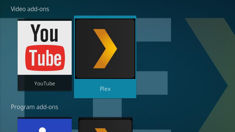 Plex Kodi Addon - Configuration