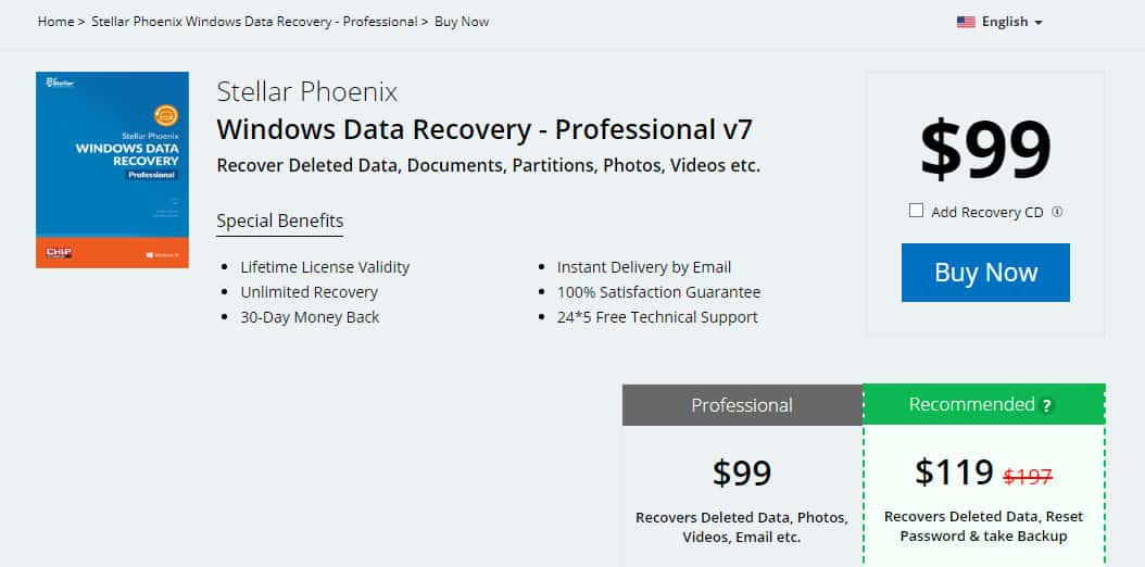 stellar phoenix windows data recovery professional registration key free download